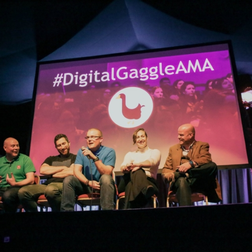 The Ask Me Anything speaker panel at Digital Gaggle