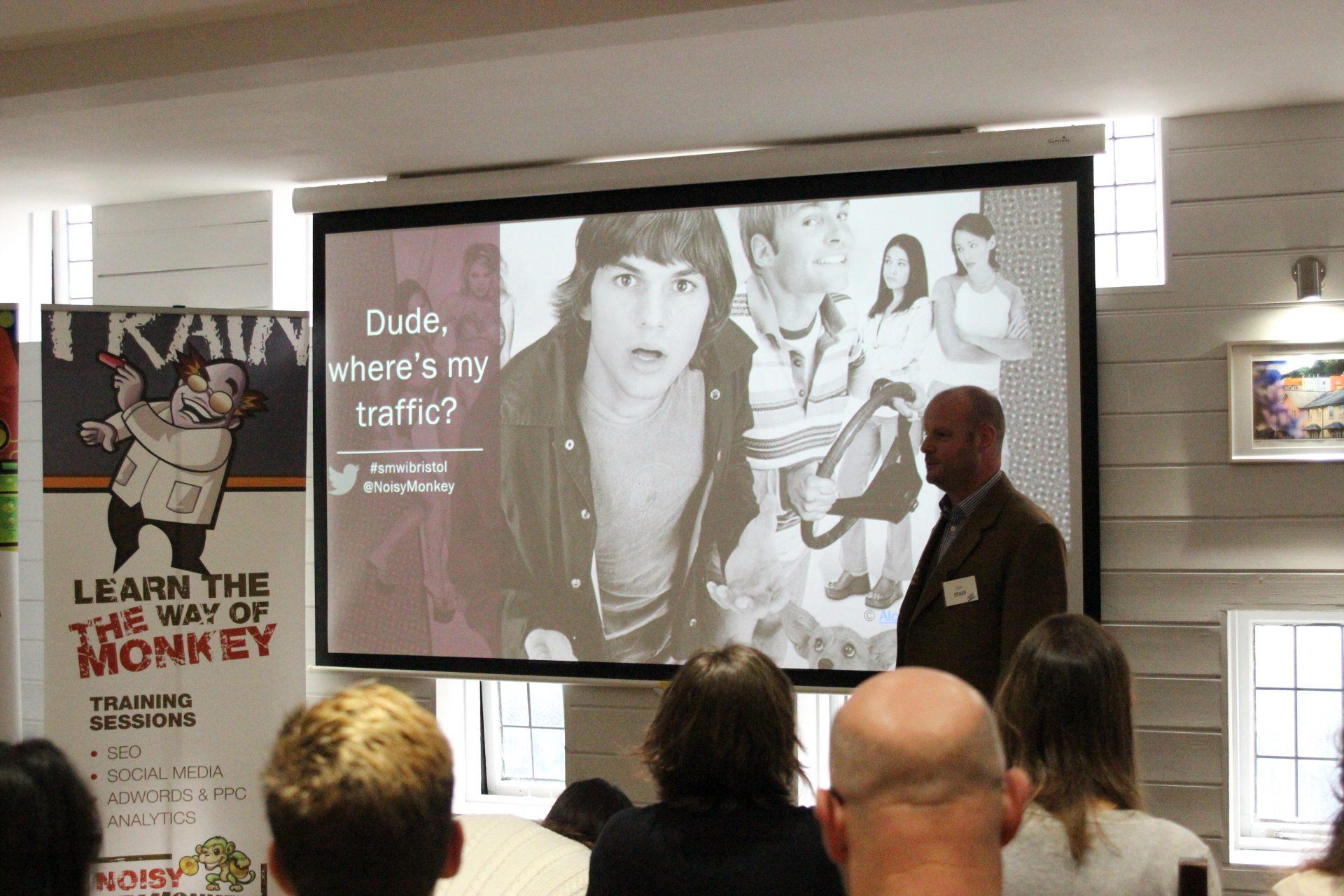 Meet Up November 2016 – SMW Bristol: Dude, Where's My Traffic?