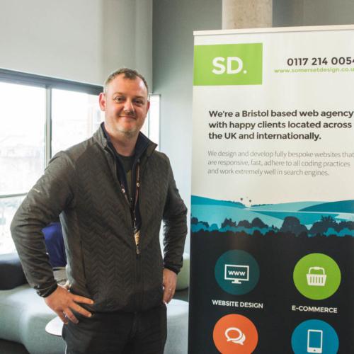 Jon Pitt, MD of Somerset Design at Digital Gaggle