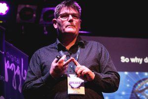 Dixon Jones presenting at Digital Gaggle