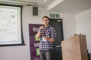 James Mulvaney presenting at Digital Gaggle