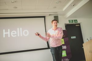 Joe Twyman presenting at Digital Gaggle