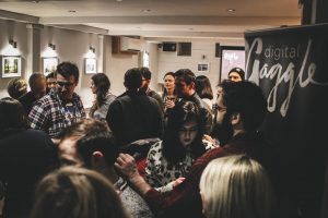 Digital Gaggle crowd at meet-up