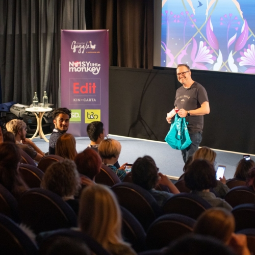 Pukka herbs speaking at the conference