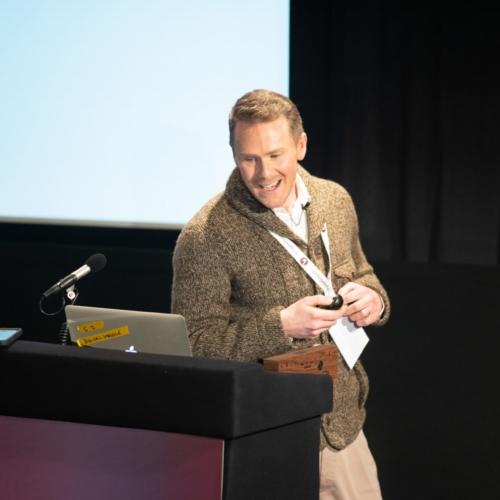 Matt Curry from Lovehoney presenting at Digital Gaggle