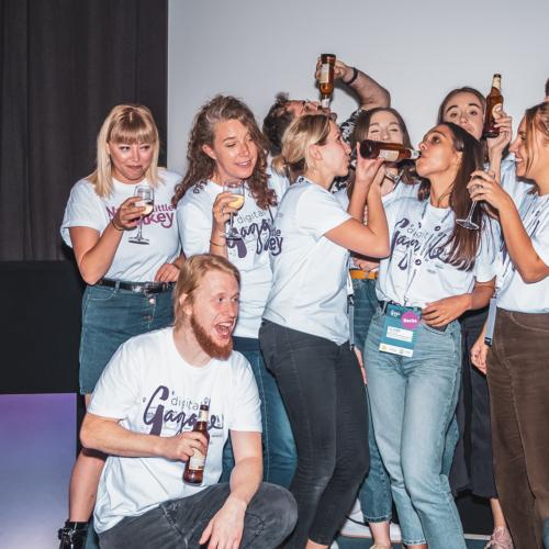 The Noisy Little Monkey team during Digital Gaggle